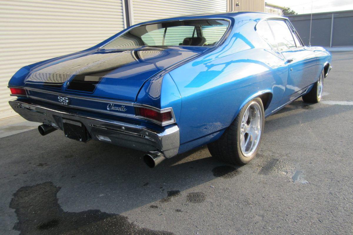 1968 CHEVELLE SS frame off