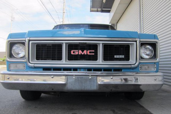 1976 C10 GMC SIERRA  SHORTBED 国内未登録