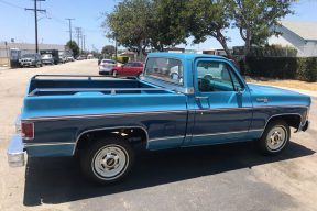 1979 C10  Silvered Short bed