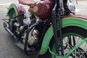 1936 Harley Davidson EL Knucklehead